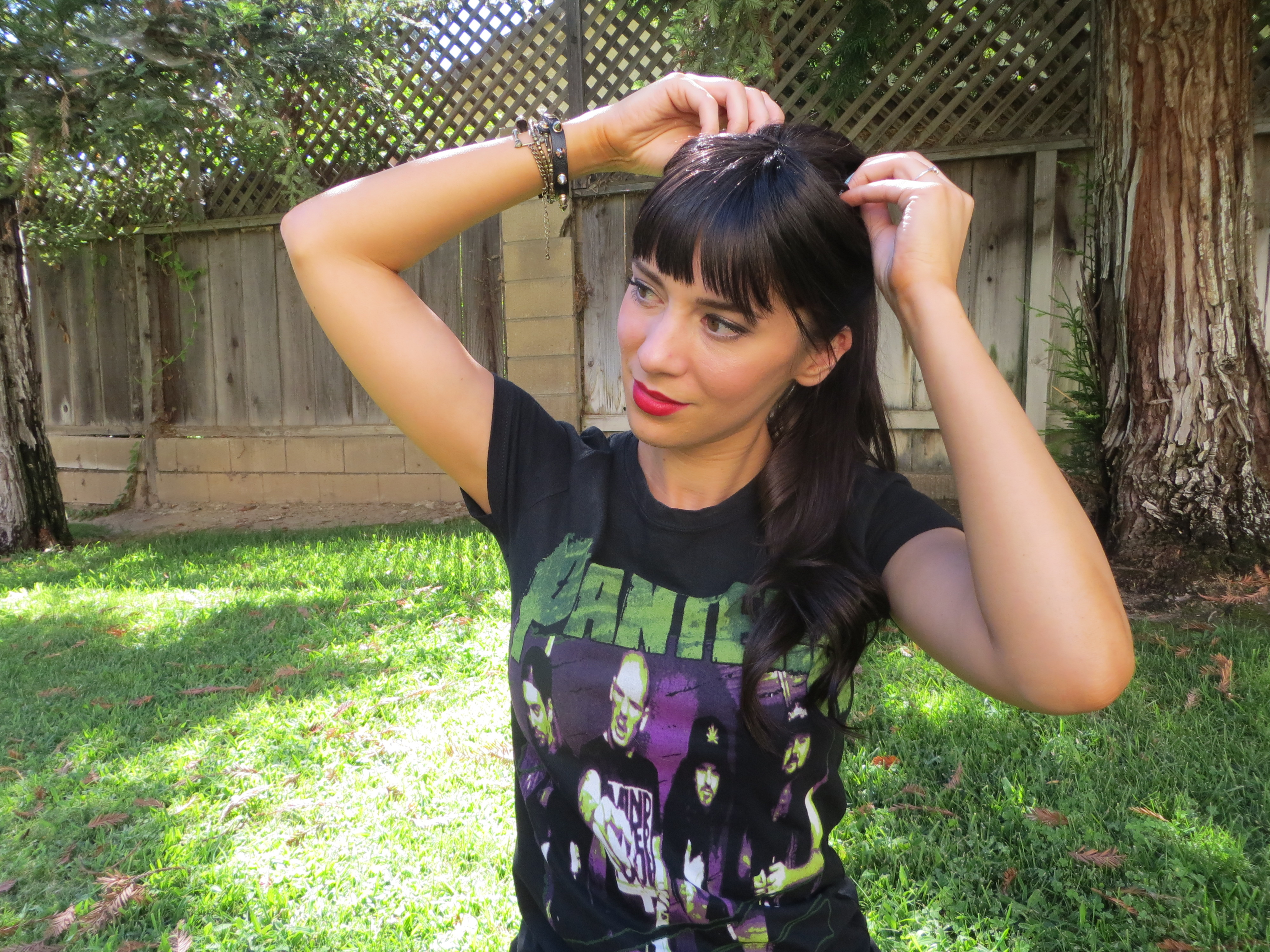 Hairdo Clip In Bangs Review Not Your Average Plain Jane