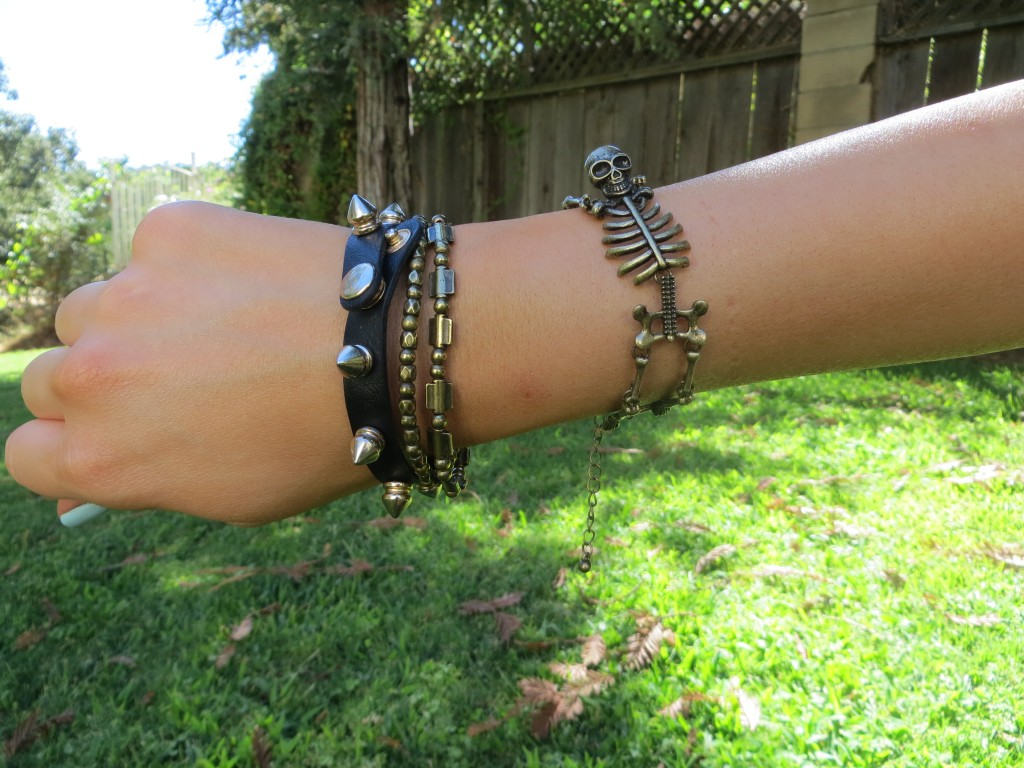 Mod Cloth Skeleton Bracelet